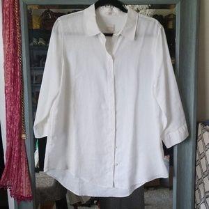 Chico's linen blouse